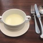 107899330 -                        さつまいもの冷製スープ