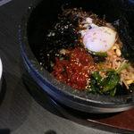 貴韓房 - 石焼ビビンバ キムチトッピング