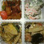 オリジン弁当 - 量り売り惣菜4種。