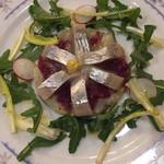 107900729 - 菊芋とニシンのマリネ