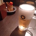 四文屋 鷺宮店 - 生ビール
