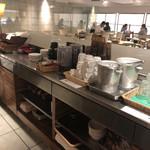 パークサイドカフェ - セルフサービスカウンター