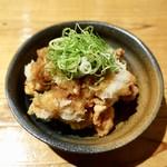 うどん居酒屋 江戸堀 - [2019/04]さっぱり鶏唐おろしポン酢(390円)