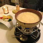 ハミーズ カフェ ダイニング - チーズフォンデュ