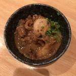 麺匠 和蔵 - 土手煮