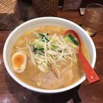 老麺魂 - 料理写真:みそらーめん  860円