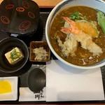 107912421 - 天ぷらカレーうどん定食
