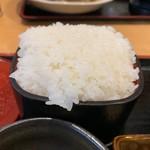 107912424 - 定食のご飯(大盛)