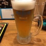 麺匠 和蔵 - 生ビール