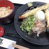 まほろばキッチン - 料理写真:ちく天おろしそば+かやくご飯♪ 790円