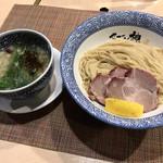 セアブラノ神 - 九条ネギとせせりの塩つけ麺
