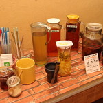 芯菜箸 - 手作りドリンクバー