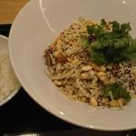 紀州清流担々麺 produce by KEISUKE - 汁無し担々麺