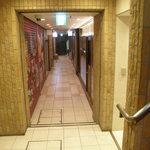 ヴァンソーブル - お店がある地下1階