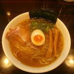 麺や 心楽 - 中華そば700円