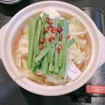 博多bo-zu - 卓上コンロと一人用鍋で提供される