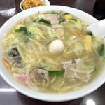 満洲園 - 料理写真:ちゃんぽん