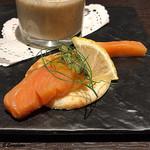 Yui - 桜鱒の自家製スモーク