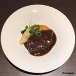 Yui - 山形牛 仔牛の赤ワイン煮