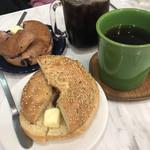 212カフェ - 料理写真:モーニングベーグル
