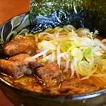 燃やし味噌ラーメン 麺や 武士 -