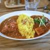 レインボウスパイス カフェチャイストール - 料理写真:■ダブルカリーライス 1000円