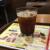 ロッテリア - ドリンク写真:アイスコーヒー250円