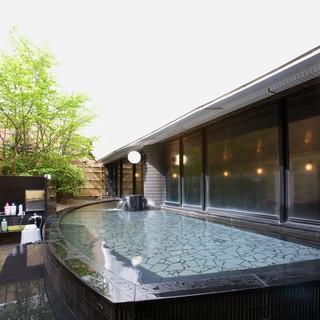 宴会プランご利用の方、2階エキスパ大浴場ご利用可能