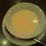 バール・エ・リストランテ・タブリエ - ランチの本日のスープ