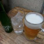 焼き鳥野島 - (2019/3月)サワーと生ビール