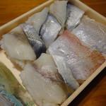 鎌倉名品店 - 料理写真:押し寿し食べくらべ