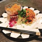 新楽飯店 - 料理写真:二種冷菜