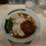 anda-guraundora-menganja - 特製濃厚ラーメン(¥1030)