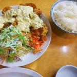 107947798 - チキン南蛮定食♪