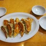 蘭蘭亭 - 餃子♪★チャーハン定食、レバニラ定食に5個付きます★♪