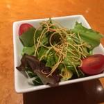 thi-shi-shi-ginzanoyoushoku - ランチのサラダ