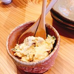恵酒真楽 やまなか - ひよこ豆ポテサラ。お上品な味でした。