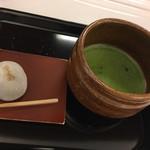 107959010 - 抹茶・きよめ餅セット 500円