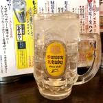107961388 - こだわり酒場のレモンサワー メガサイズ