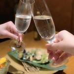 旬菜 さかなと酒 匠海 隠れ家 - 日本酒澪で乾杯