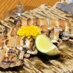 旬菜 さかなと酒 匠海 隠れ家 - 鰻の白焼き¥780