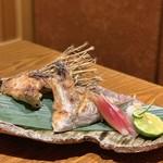 旬菜 さかなと酒 匠海 隠れ家 - カンパチ塩釜焼き¥680