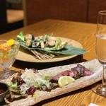 旬菜 さかなと酒 匠海 隠れ家 - 日本酒澪の泡と一緒に