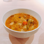 ジーン ダイニング - 温かい野菜スープ╰(*´︶`*)╯♡