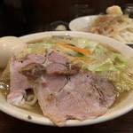 濃菜麺 井の庄 - 料理写真:濃菜麺大盛り、味玉