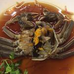 彩雲瑞 - 上海蟹の紹興酒漬け