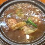 彩雲瑞 - 本日のおまかせ料理       白菜と肉団子の土鍋煮込み