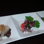 chuugokuryourigouka - 前菜三種盛り