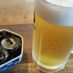ぱちぱち みんなの大衆酒場 - 料理写真:さぁ、スタート。ガンガラが旨い。
