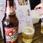 パイシーパイス - インドのビール  ゴッドファーザー